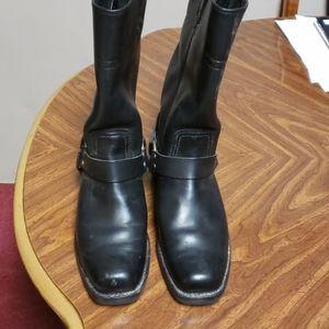Harley Davidson square toe boots